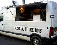 Four à pizza
