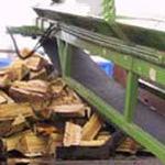 Préparation du bois en vrac