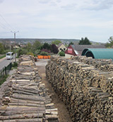 Notre site de Vernouillet pour la production de bois de chauffage Chaville